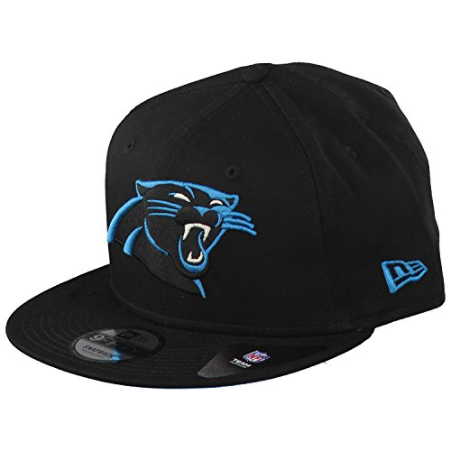 New Era 9fifty Carolina Panthers Herren Kappe Schwarz