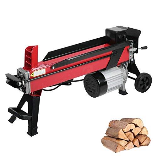 Hydraulische meldet Holzspalter 7 Ton Sicher Große Power Elektro-Holzspalter Quiet Beruf Kamin Zerspanungswerkzeuge Blockspaltkeil 2200W