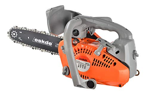 eSkde CS26-S8 Top Handle Chainsaw, Orange and Grey