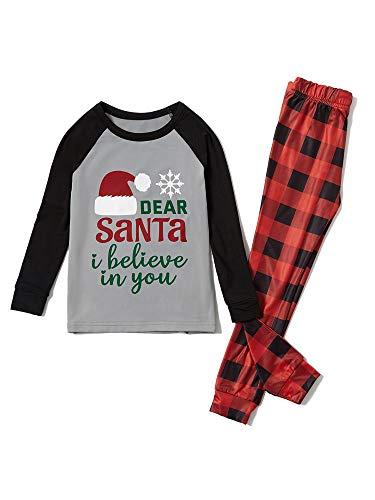 Sexy Dance Schlafanzug-Set für Kinder und Erwachsene, mit Weihnachtsmann-Motiv,...