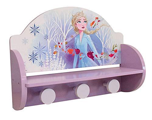 Fun House 713204 Disney Eiskönigin Bücherregal für Kindermantel, Violett