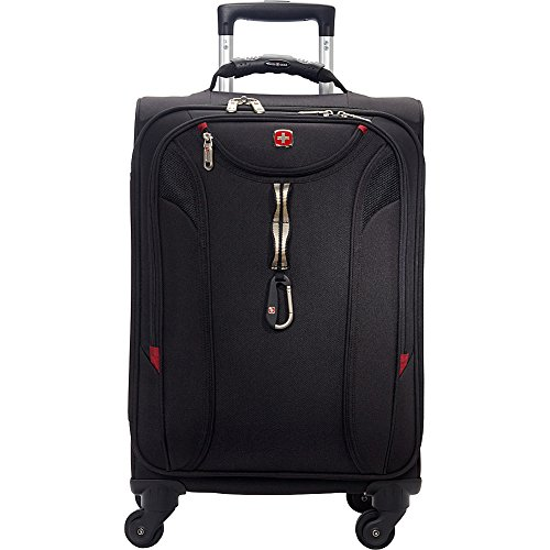 SwissGear TravelGear 1900 22 Inch Carry-On Spinner Luggage - (Black)