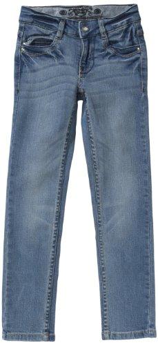 Lemmi Fashion Mädchen Jeans Niedriger Bund 4101659792 - Skinny fit (Röhre) - SLIM, Gr. 146, Blau (172 - light blue)