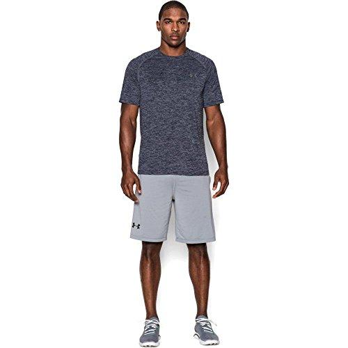 Under Armour Men's Tech Short Sleeve T-Shirt, Academy /Steel, XX-Large
