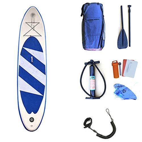 NgMik Tablas De Surf para Deportes Acuáticos Tableros de Remo inflables for Deportes acuáticos Juveniles portátiles Stand Up Juego de Tablas de Surf Sup Ligeras for Todos los Niveles