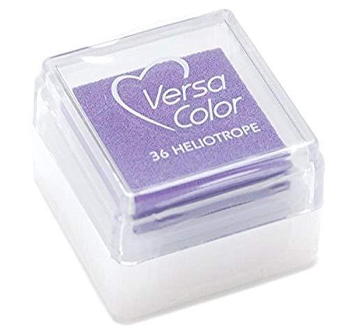 Versasmall VersaColor Tampon encreur petit cube 25 /× 25 mm Pigment Blanc