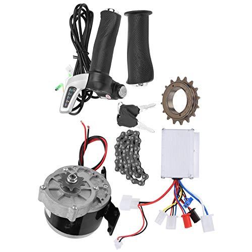 VINGVO Kit de conversión de Motor de Bicicleta eléctrica, Juego de Accesorios de conversión de Motor de Engranaje, Bricolaje 24V 250W para triciclos eléctricos Bicicleta eléctrica Scooter