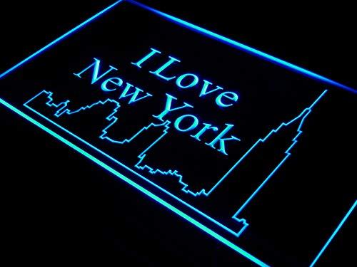 ADV PRO Enseigne Lumineuse j394-b I Love New York City Bar Decor Neon Light Sign