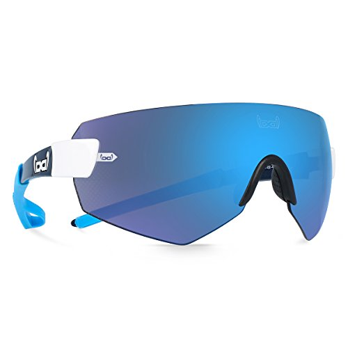 Gloryfy unbreakable eyewear (G9 XTR blue) - Unzerbrechliche Sonnenbrille, Sport, Rahmenlos, Herren, Damen, Blau