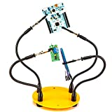 KOTTO Third Hand Soldering Tool PCB Holder Four Arms Helping...