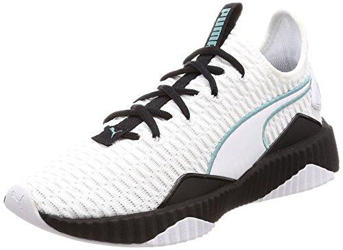 Puma Damen Defy WN's Fitnessschuhe, Weiß White Black, 38 EU