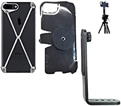 SlipGrip Tripod Mount for Apple iPhone 8 Plus Using MOD-3 Radius Case