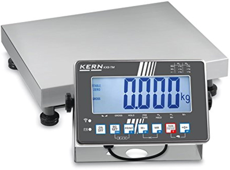 KERN IXS Plattformwaage mit IP65-Schutz (60 kg   2 g   500 x 400 mm) B073FJ83X7   Qualität Produkt