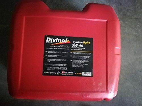 Divinol 49520 20 Liter Syntholight 5W-40 Motorenöl Motoröl