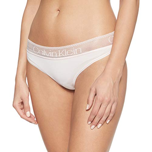 Calvin Klein Brazilian Braguita brasileña, Rosa (NYMPH'S Thigh 2NT), Medium para Mujer