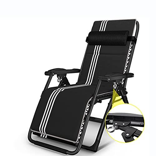 Oikupe Patio Lounge Stühle Home Adult Elderly Lounge Chair Fauler Freizeitstuhl Garten Patio Klappliege Tragbar Faltbar Büro Nap Bett,A2