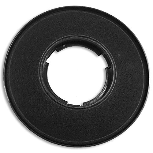 CIARRA CBCF005 Aktivkohlefilter für Dunstabzugshaube, Ersatzfilter/Geruchsfilter/Aktiv Kohlefilter für 60cm Unterbau Dunstabzug