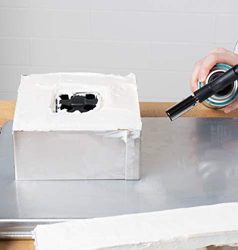 PEGANE Carré en INOX 18 cm pour Wedding Cake carré