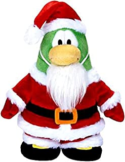 Club Penguin Disney 6.5 Inch Series 5 Plush Figure Santa [Includes Coin with Code!]