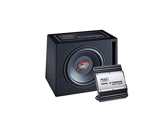 Mac Audio Mac Xtreme 2000 Car-HiFi Paket (1x Mac Xtreme Sub 110R, 1 x Max Xtreme Amp 2000)