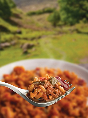 Wayfayrer Pack of 6 x Food - Ready to Eat Camping and Expedition Rations - Eat Hot or Cold (Chilli Con Carne & Rice) 2