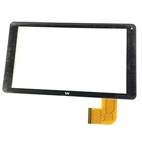 Negro Color EUTOPING ® De Nuevo 10.1 Pulgadas Pantalla tactil Digital La sustitución de para Woxter QX 99 QX99
