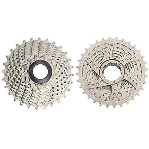 Cmstop 8/9/10/11 Cassette de Bicicleta de Carretera de Velocidad Ligero 11-25/28/32/36 pi?ón desviador Cassette Volante para Bicicleta de Carretera