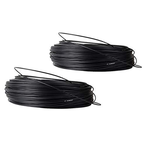 dailymall 2X Carcasa de Cable de Bicicleta 5mx4 / 5mm Shifter Desviador Caja de Cables de Freno