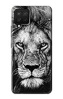 JP3372A42 ライオンの顔 Lion Face Samsung Galaxy A42 5G ケース