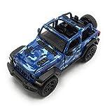 K Modellismo Auto da Collezione Wrangler Jeep in Scala 1:34 (militaly)