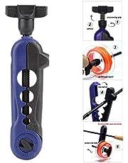 Mini Line Spooler, Línea de Pesca Ajustable portátil Spooler Spinning Lines Winder Reel Spooling Device