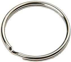 SBS® Schlüsselring   Ø 15 mm   100 Stück   Stahl   glän
