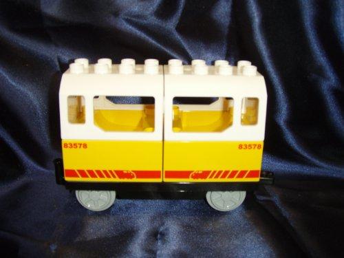 LEGO DUPLO Personenanhänger aus 5608 mit weissem Dach !!!