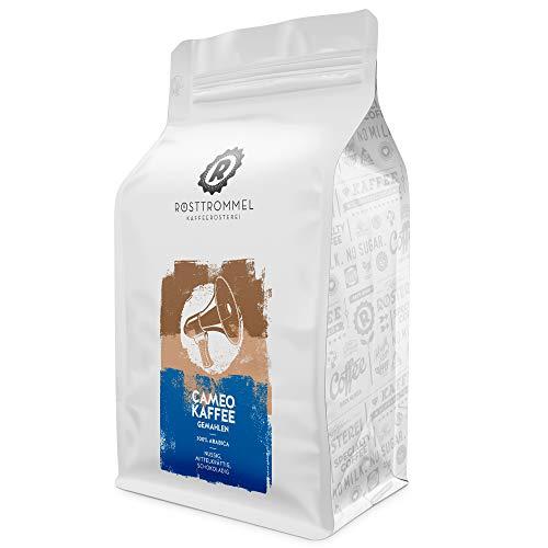 Filterkaffee CAMEO (gemahlen) - Special Edition - handgeröstet - mittelkräftiger Kaffee - optimiert für Filterzubereitung - wiederverschließbar