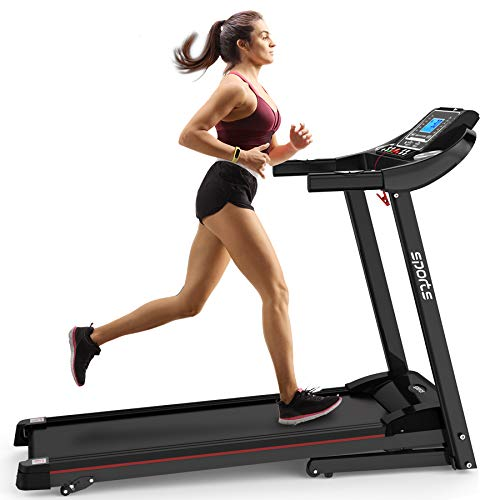 Hylinco Electric Folding Treadmill Home Workout Compact Treadmill with Incline, Foldable & Portable Treadmill Machine, Easy Assembly and Running