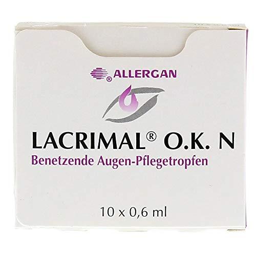 Lacrimal O. K. N Augentropfen, 10X0.6 ml