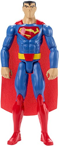 Mattel FBR03 DC Justice League Basis-Figur Superman, Aktionsspielzeug, 30 cm