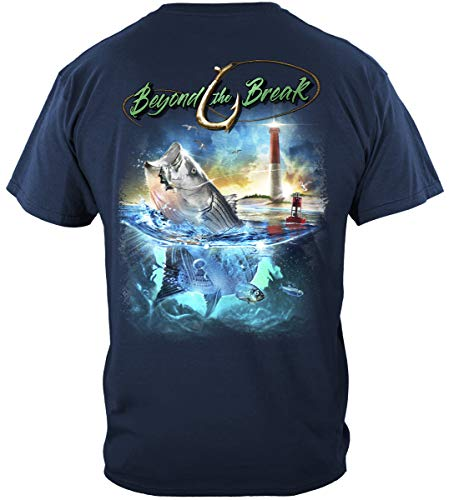 Trout Fishing Lures | Striped Bass T Shirt BTB2355S
