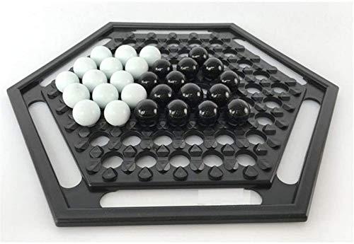 YZ-YUAN Juegos Casuales Accesorios para el hogar Juegos de Mesa JNT Juego de ajedrez Juego de Mesa Push Chess Juego de Fiesta de Escritorio Juegos para el hogar Go Chess Puzzle Game Niño Estudiante