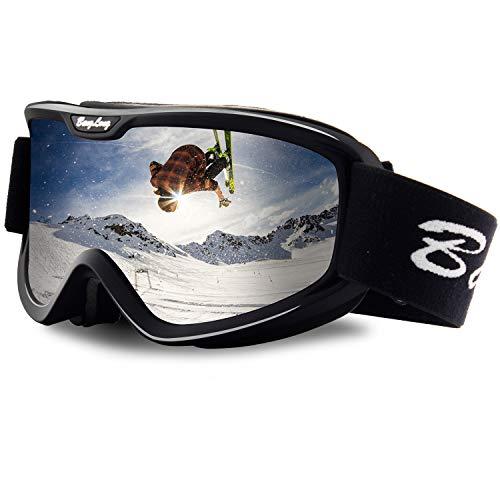 BangLong Skibrill, Snowboard Brille für Brillenträger Herren Damen...