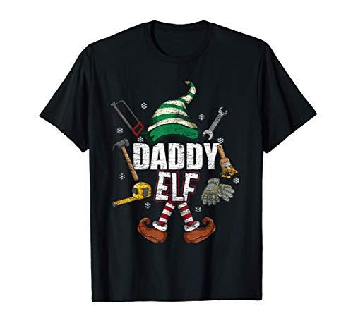 Matching Family Pajama Xmas Gift Daddy Elf T-Shirt