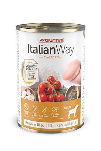 Italian Way Cibo Umido per Cani Classic Fit Pollo e Riso -...