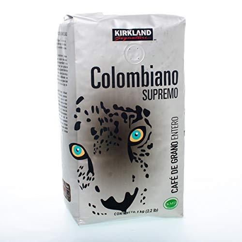Kirkland Signature Café Colombiano en Grano 1kg
