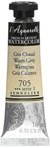 Sennelier l'Aquarelle Watercolor Tubes 10ml - Warm Grey 10ml Tube
