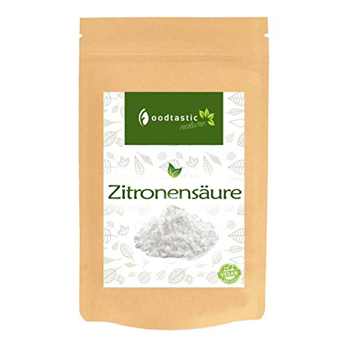 Foodtastic citroenzuur 5 kg / 5000 g | Premium citroenzuur E330 Citric Acid in levensmiddelenkwaliteit | Kristal poeder in hersluitbare zak
