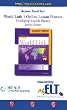 World Link 1: Online Lesson Planner, Printed Access Code (2e)