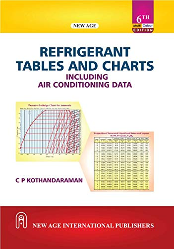Refrigerant Tables and Charts including Air Conditioning Data (MultiColour Edition)