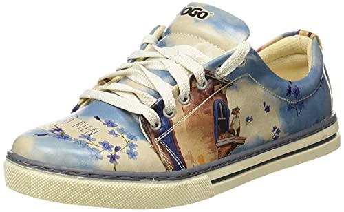 DOGO Sneaker, Zapatilla Mujer, Multicolor, 36 EU