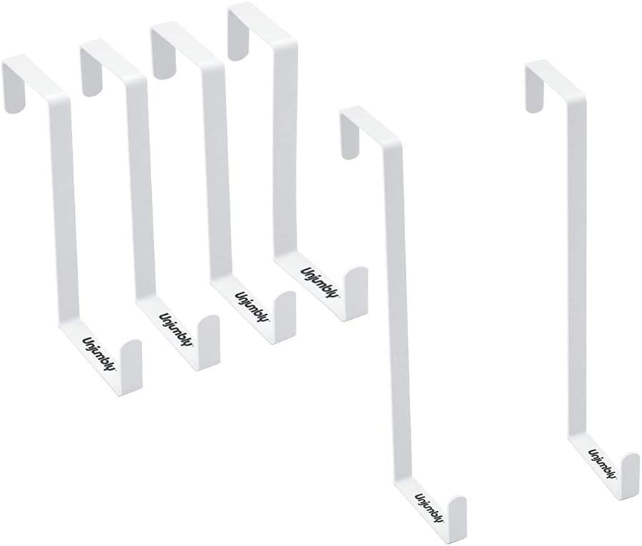 Ranking TOP17 Unjumbly Over The Door Two Length Hooks Bundle Minneapolis Mall