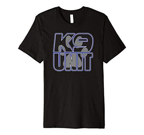 K9 Unit Dog Paw Security Shirt